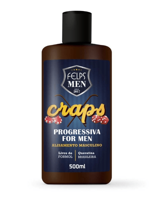Felps Men Progressiva For Men Masculino Craps 500ml
