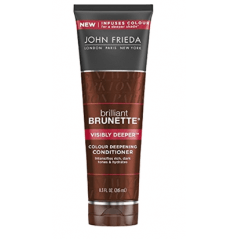 John Frieda Brilliant Brunette Visibly Deeper Colour Deepening - Condicionador 245m