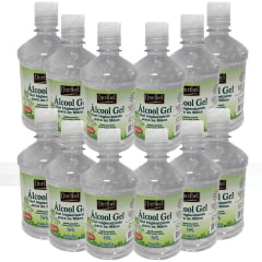 Alcool Gel Ouribel 70% 500ml - 12 unidades