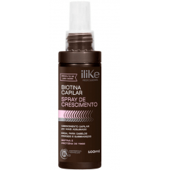 iLike Biotina Capilar Spray de Crescimento - 100ml