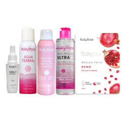 Kit Ruby Rose Skin Care - 5 produtos (hidratante)