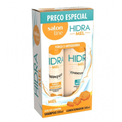 Kit Shampoo + Condicionador Hidra Mel 300ml - Salon Line